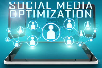 Social Media Optimierung Infographic
